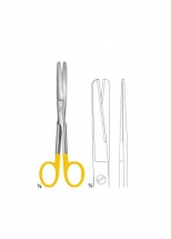 Scissors with Tungsten Carbide Inserts